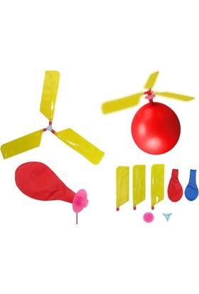 Wildlebend Çocuklar İçin Balon Helikopter (2 Adet Balon Ve Helikopter Uçları)