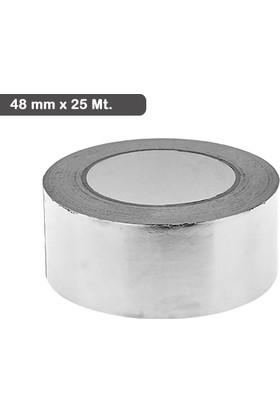 Wildlebend Alüminyum Folyo Bant 48 mm x 25 Mt