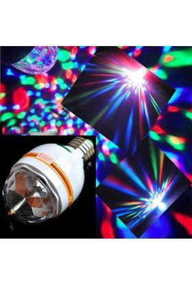 Wildlebend 3 Renk Işık Yansıtan Dekoratif Lamba Crystal Magic Bulb