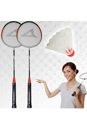Wildlebend Badminton Seti (2 Raket + 1 Top)