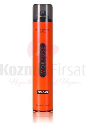 Morfose Gazsız Orjinal Saç Spreyi No Gas 400 ml