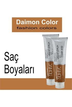 Daımon Color Krem Saç Boyası 60Ml 6/0 Koyu Kumral