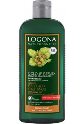 Logona Kahve - Siyah Renkli Saçlar İçin Fındık Özlü Boya Bakım Şampuanı