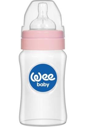 Wee Baby Geniş Ağızlı PP Biberon 250 ml Pembe