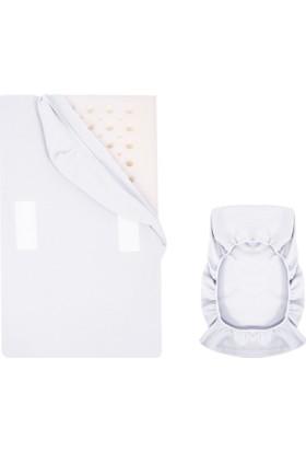Sevi Bebe Reflü Yatak Kılıfı Beyaz