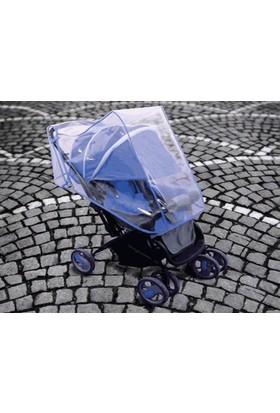 Wildlebend Bebek Arabası Yağmurluğu - Mavi