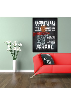 Hepsiburada Home Basketball Kanvas Tablo-2