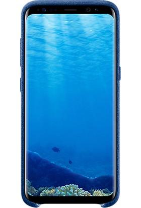 Samsung Galaxy S8 Alcantara Kılıf Lacivert - EF-XG950ALEGWW