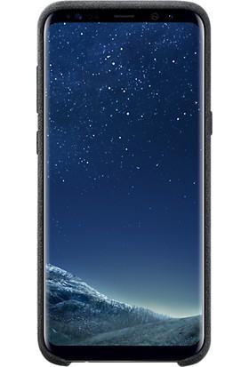 Samsung Galaxy S8 Plus Alcantara Kılıf Siyah - EF-XG955ASEGWW