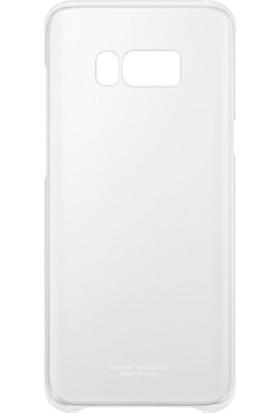 Samsung Galaxy S8 Plus Şeffaf Kılıf Gri - EF-QG955CSEGWW