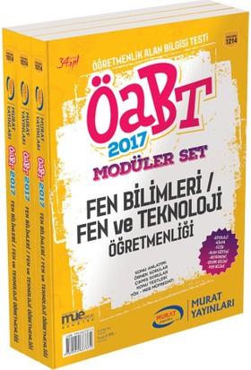 ÖABT Fen Bilimleri Fen ve Teknoloji Öğretmenliği Konu Anlatımlı Modüler Set Murat Yayınları