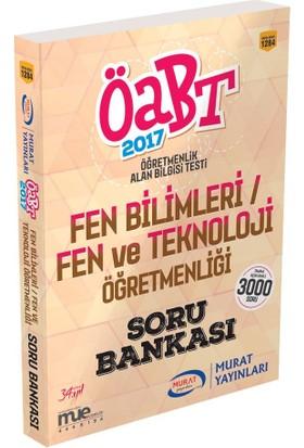 ÖABT Fen Bilimleri Fen ve Teknoloji Öğretmenliği Tamamı Açıklamalı Soru Bankası Murat Yayınları