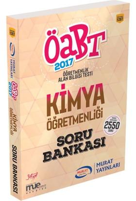 ÖABT Kimya Öğretmenliği Tamamı Açıklamalı Soru Bankası Murat Yayınları