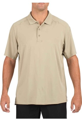 5.11 Charcoal S/S Helıos Polo T-shirt