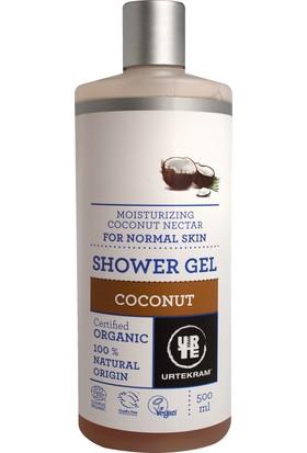 Urtekram Organik Duş Jeli - nemlendirici hindistan cevizi nektarı, ekonomik 500 ml.