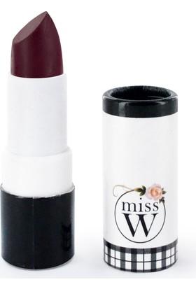 Miss W Organik Sertifikalı Mat Ruj - No 134 Burgundy 3.5 gr.