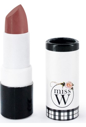 Miss W Organik Sertifikalı Mat Ruj - No 136 Pink Beige 3.5 gr.