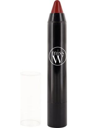 Miss W Organik Sertifikalı Bio Twist Kalem Ruj - No 405 Matt Red 3 gr.