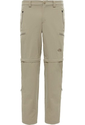 The North Face Krem Erkek Outdoor Pantolonu T0Cl9Q254 M Exploration Convertible Pant