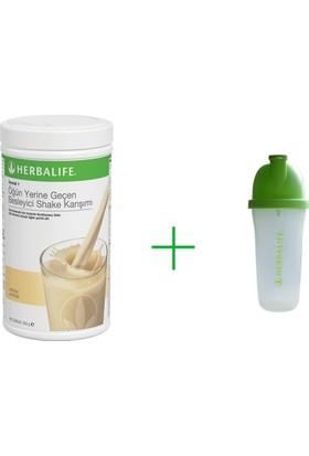 Herbalıfe Formül 1 Vanilyalı Shake Karışımı + Shaker Karıştırıcı