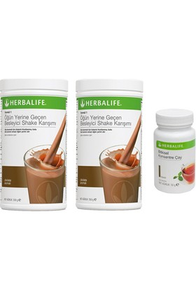 Herbalife 2 Adet Çikolatalı Shake+ 50 Gr Klasik Çay