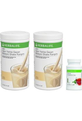 Herbalife 2 Adet Vanilyalı Shake+ 50 Gr Klasik Çay