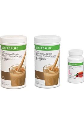 Herbalife 2 Adet Fındıklı Shake+ 50 Gr Klasik Çay