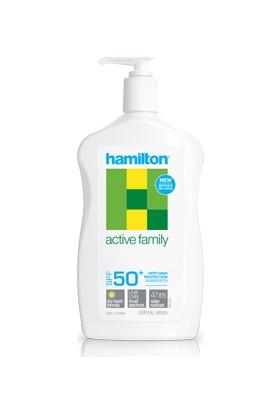 Hamilton Active Family Lotion Spf 50+ 500Ml