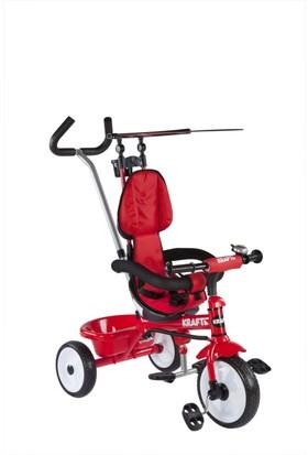 Kraft XG18819-9W Basıc İtmeli Bisiklet Kırmızı