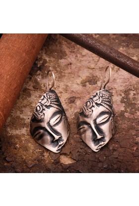 Sümer Telkari Uyuyan Güzel Gümüş El Yapımı Gümüş Küpe 1803