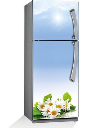 Sarı Papatya Buzdolabı Sticker