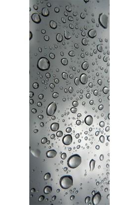 Su Damlaları Buzdolabı Sticker