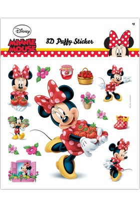 Ds-182 Minnie 3D Puffy Sticker