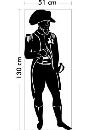 Napoleon Kadife Duvar Sticker 51X130 Cm