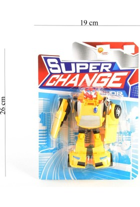 Can-Em Oyuncak Kartela Transformers Araba