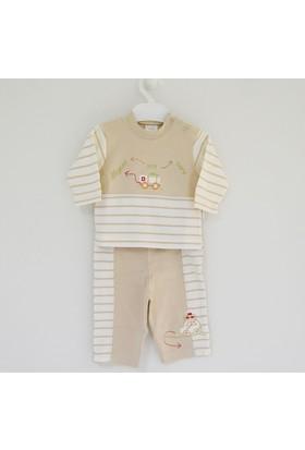 İdil Baby My Cars Bebek Pijama Takımı