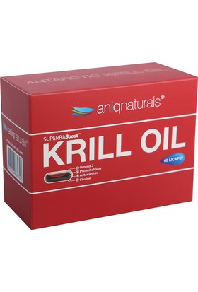Aniqnaturals Superba boost Krill Oil Yağı 60 Licaps