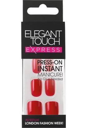 Elegant Touch Polıshed Naıls Kırmızı