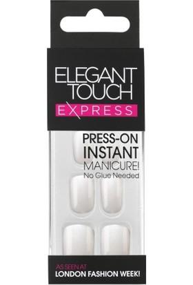 Elegant Touch Polıshed Naıls Beyaz