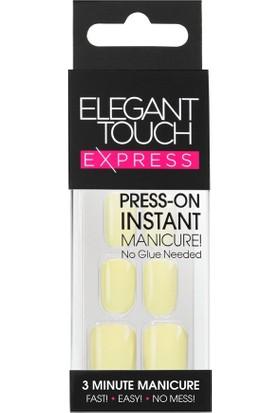 Elegant Touch Takma Tırnak Sarı