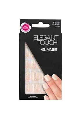 Elegant Touch Polıshed Naıls-Simli Ten Rengi