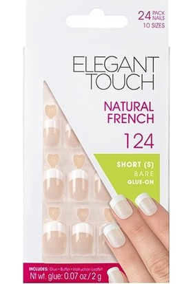 Elegant Touch Takma Tırnak 124 Bare