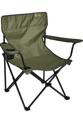 FUNKY CHAIRS Haki Katlanabilir Kamp Sandalyesi
