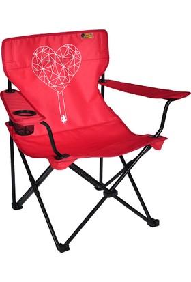 FUNKY CHAIRS Love Katlanabilir Kamp Sandalyesi
