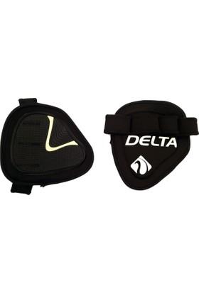 Delta Bat Grip Pad Body & Ağırlık & Fitness Eldiveni - Siyah & Beyaz