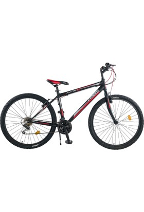 Orbis Voltage 27,5 Jant Bisiklet 21 Vites Siyah-Kırmızı Dağ Bisikleti
