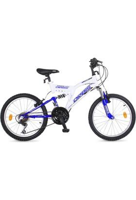 """Orbis Tiger 20"""" Beyaz-Mavi Çocuk Bisikleti"""