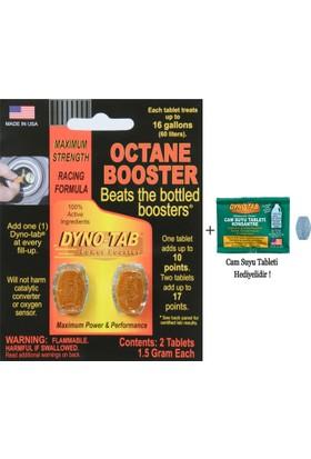 Dyno Tab Oktan Arttırıcı - 2 kullanım (Made in USA)(cam suyu tableti hediyeli)