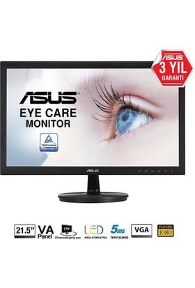 """Asus VS229DA 21.5"""" 5ms (Analog) Full HD VA Led Monitör"""