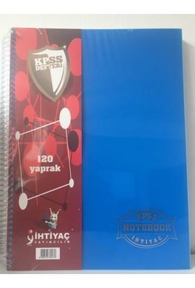 İhtiyaç Yayıncılık KPSS Defteri Genel Yetenek Genel Kültür